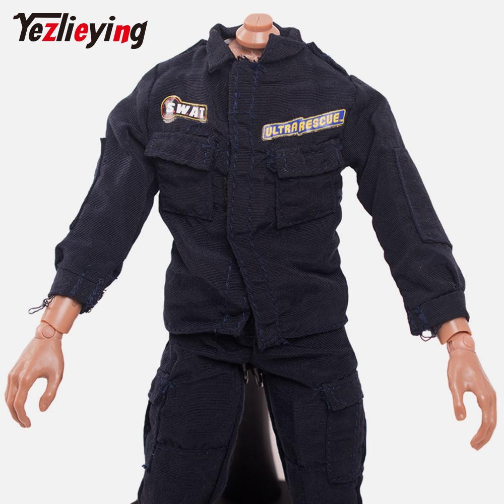 "1:6 scala seconda guerra mondiale soldato tedesco Blu Navy Uniforme Giacca Cappotto per 12/"" Figure"