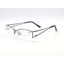 Женские очки металлические половинные оправы очки близорукость очки для зрения Gafas-1-1,5-2-2,5-3-3,5-4-4,5-5-5,5-6 L3