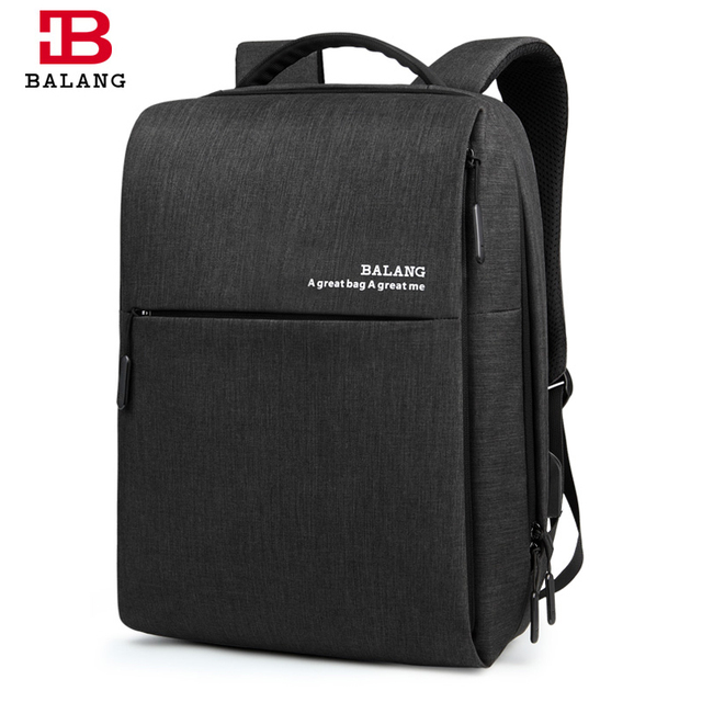 BaLang Classic Business Backpack Men Women Laptop Backpack