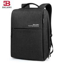 Balang de visita clásica mochila hombres mujeres estudiantes mochila bolsa de ordenador portátil mochila de gran capacidad mochila bolso de escuela de 15.6 pulgadas