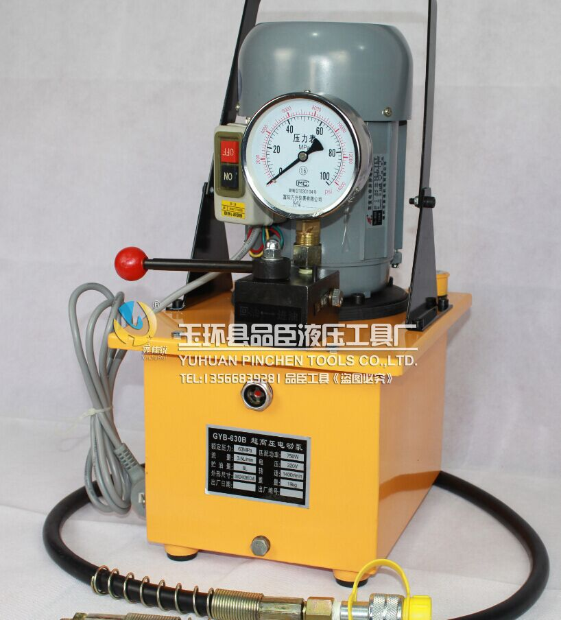 US $1320 0 |Electric hydraulic pump pressure hydraulic electric pump GYB  630A hydraulic oil press hydraulic station-in Drilling Machine from Tools  on