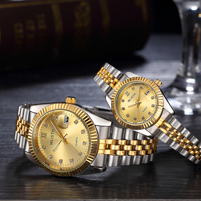 Couple Watch Mens Top Brand Luxury Quartz