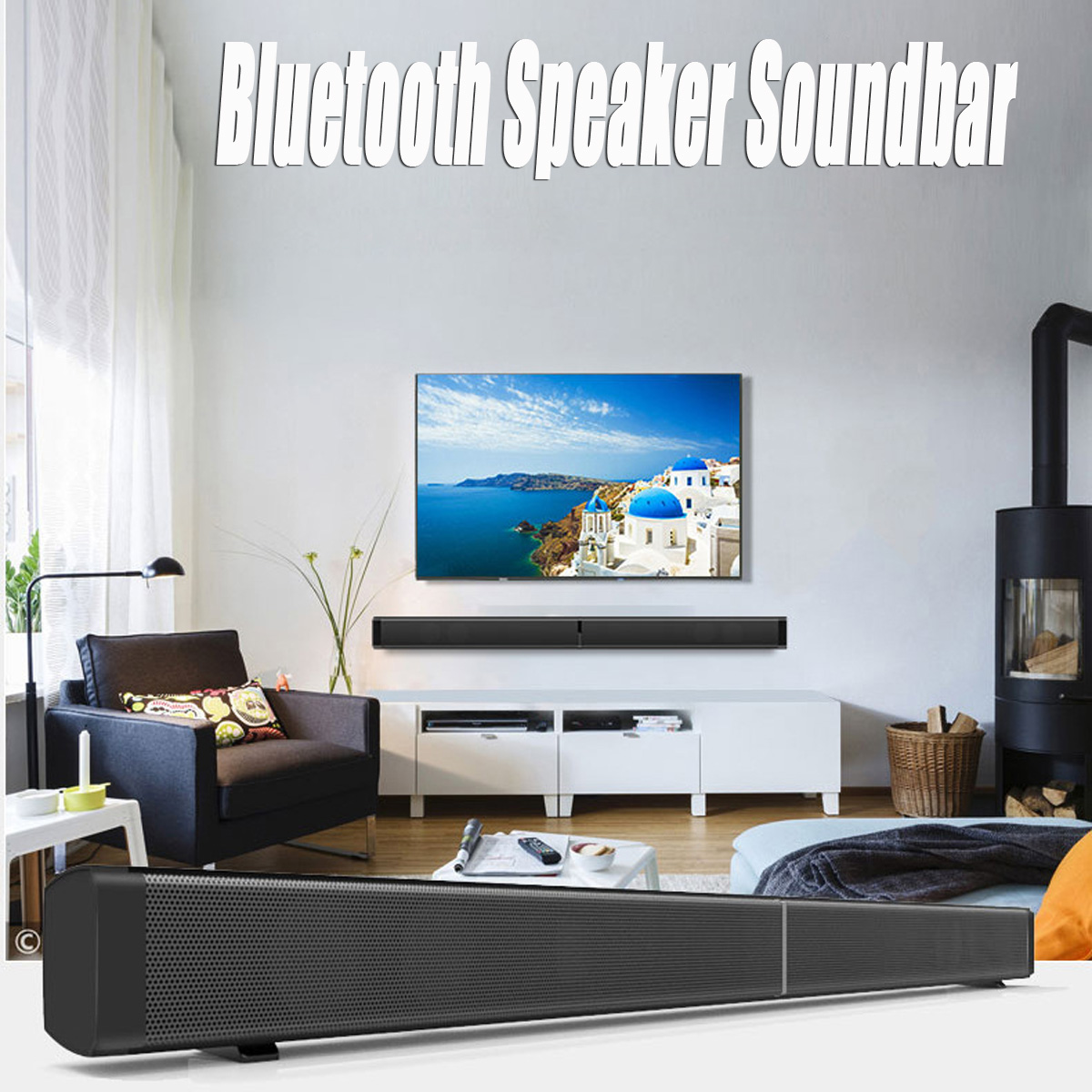 Sound Bar Home Theater System Music Center Soundbar Bluetooth Speaker Soundbar Super Bass 16 bar chainsaw chain for semi chisel 3 8 0 043 55 dl for various stihl chainsaw