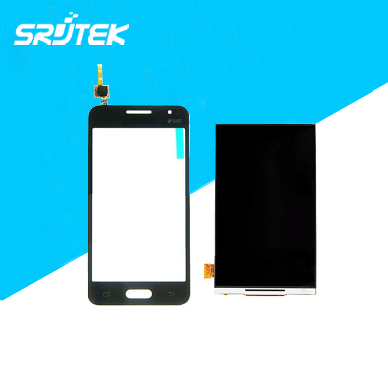 New LCD Display & Touch Screen Digitizer Separatly For Samsung Galaxy Core 2 SM-G355H G355 Black Replacement Parts