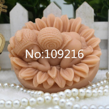 1pcs Wire Ball Baby (zx275) Food Grade Silicone Handmade Soap Mold Crafts DIY Mould