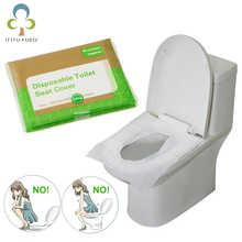 Mat Toilet-Seat-Cover Accessiories Bathroom Disposable Paper for Travel Camping GYH 5packs--50pcs