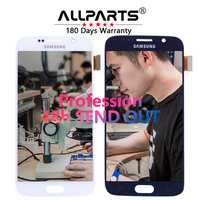 Warranty 5 1 Super AMOLED LCD For SAMSUNG Galaxy S6 LCD Display G920 SM G920F G920F