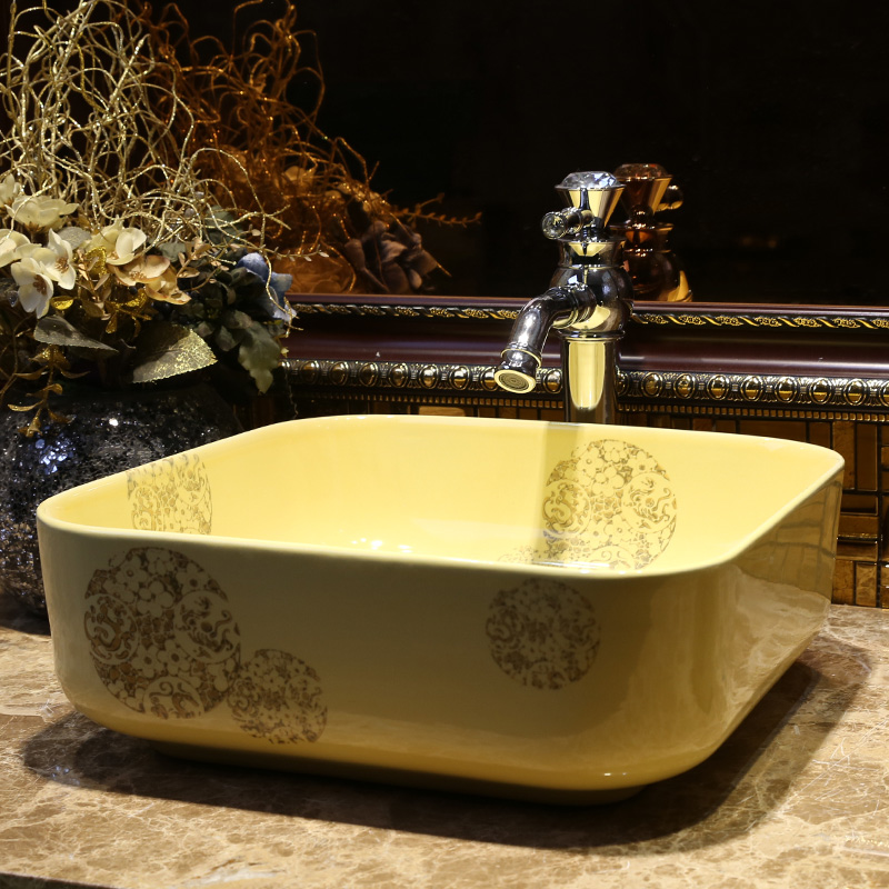 King Yan Jia Zhuang ceramic hand basin bathroom washbasin basin ...