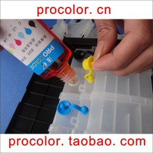 PROCOLOR Best photo Quality ink CISS ink Refill cartridge ink UV resistant ink universal dye ink for CANON all inkjet printer