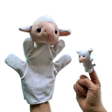 Marioneta Ovejita + marioneta de dedo
