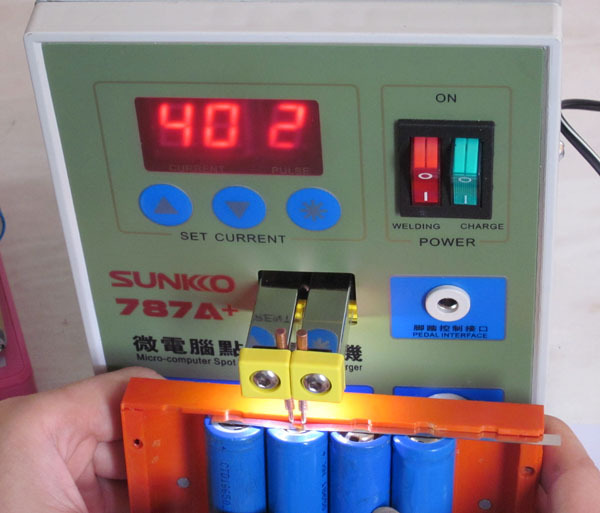sunkko 787a spot welder 18650 lithium battery test and. Black Bedroom Furniture Sets. Home Design Ideas