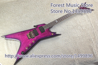 New Arrival Tiger Flame Finish Dean Electric Guitar Gold Floyd Rose Tremolo In Stock