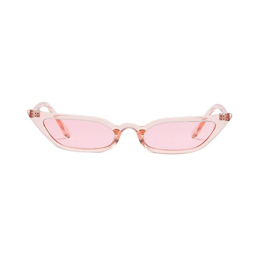 2018 Fashion MenWomen Vintage Cat Eye Sunglasses Retro Small Frame UV400 Eyewear Fashion For Driver Luxury Brand Designer  #LD