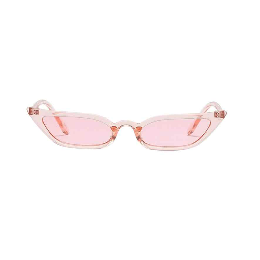 2018 Fashion MenWomen Vintage Cat Eye Sunglasses Retro Small Frame UV400 Eyewear Fashion for driver Luxury Brand Designer  #LD