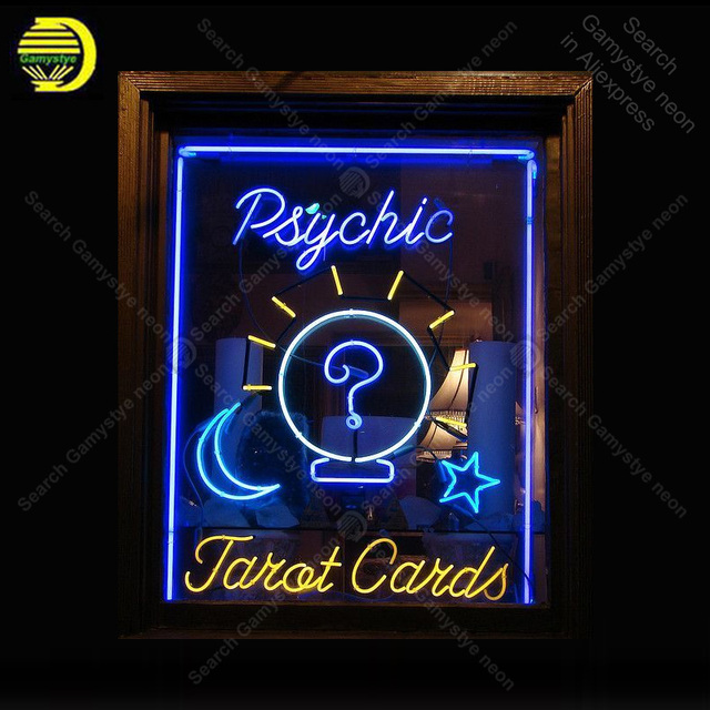 Psychic Chat Neon Sign Neon Bulbs sign custom design Iconic Readers Bar Pub light Lamps Sign display advertise enseigne lumine