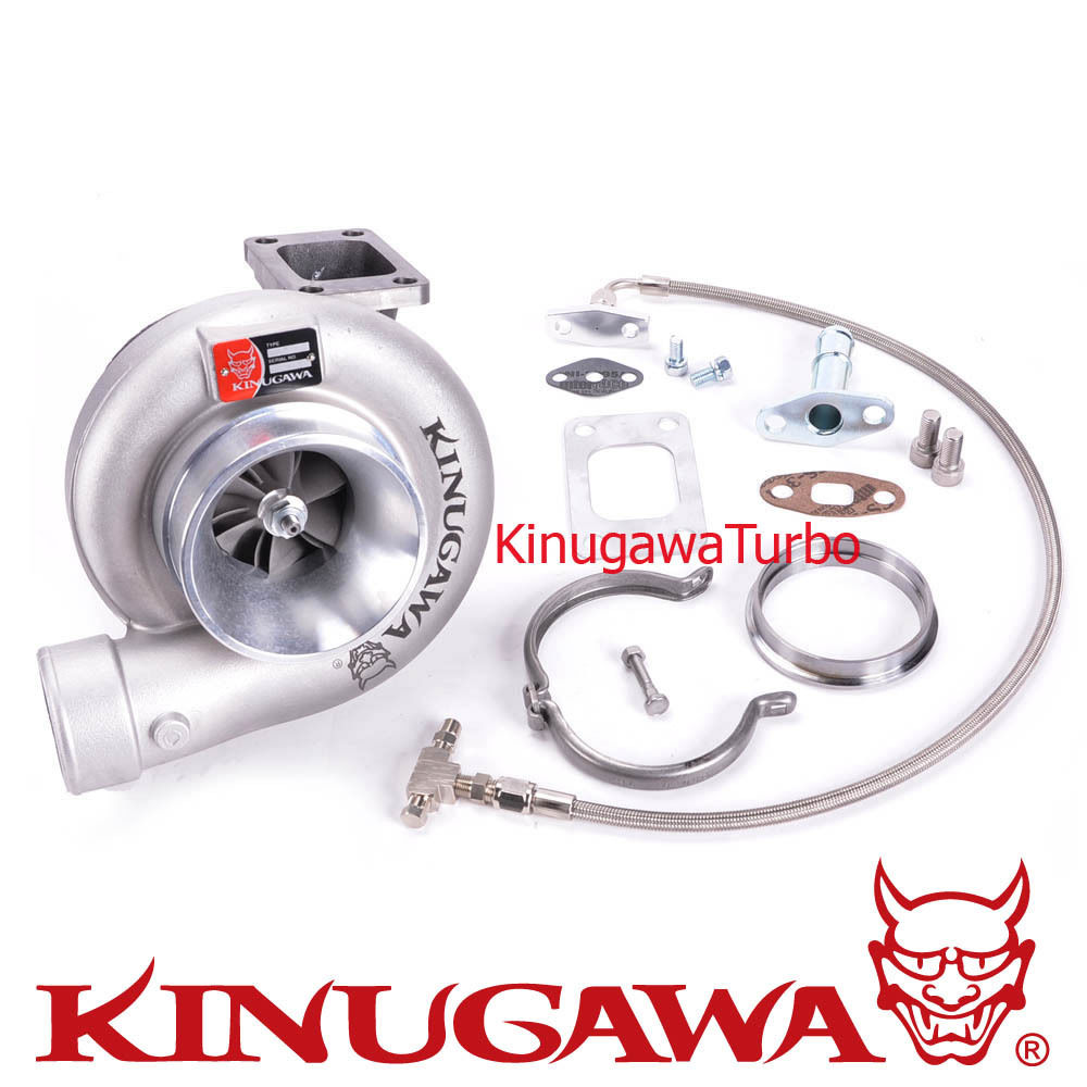 Kinugawa Billet Turbocharger 4 T67-25G 10cm T3 V-Band External Gated