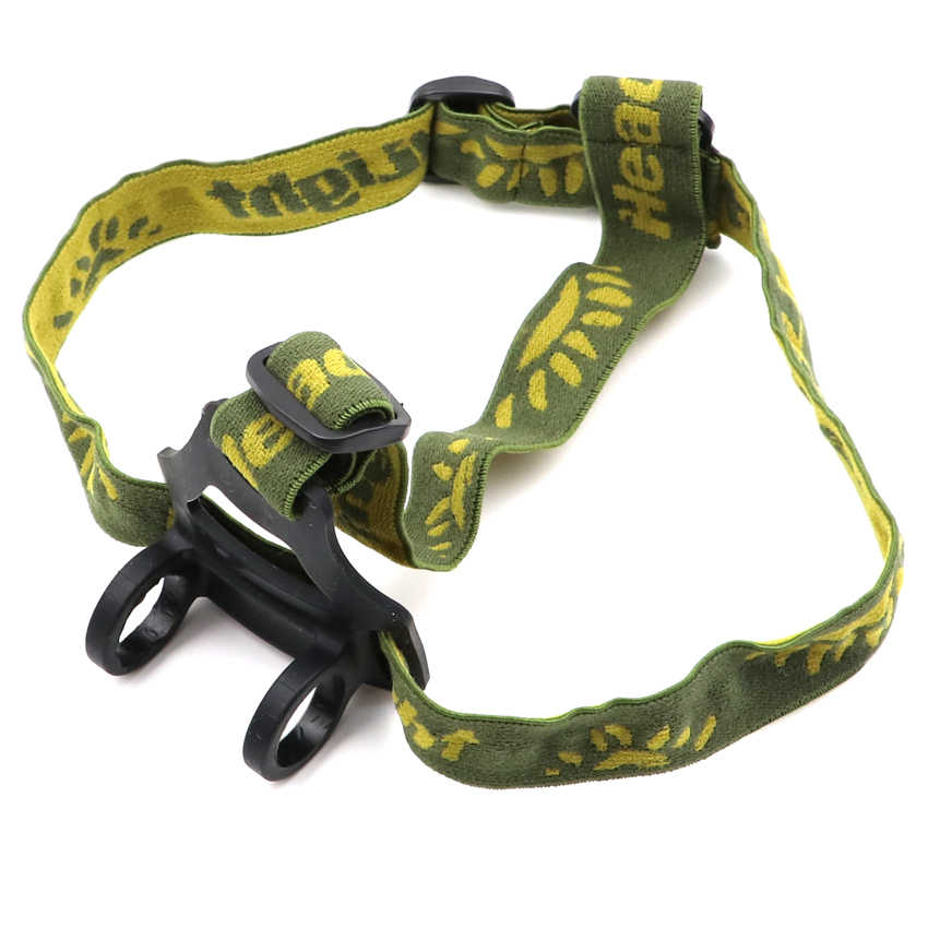 Flashlight headband Adjustable Elastic Belt Headband mount Strap Mount Holder for Flashlight Headlamp headlight