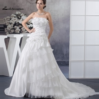 Charming O Neck Lace Mermaid Bridal Gown With Open Back Custom Made Long Sleeve Wedding Dresses