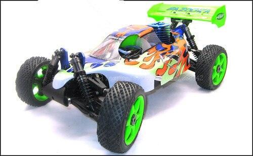 33f66e1f HSP Baja 4WD 1/8th Skala 21CXP Silnik Nitro Off-Road Buggy BAZOOKA R/C  Samochodów 94081 zabawki zdalnego Sterowania