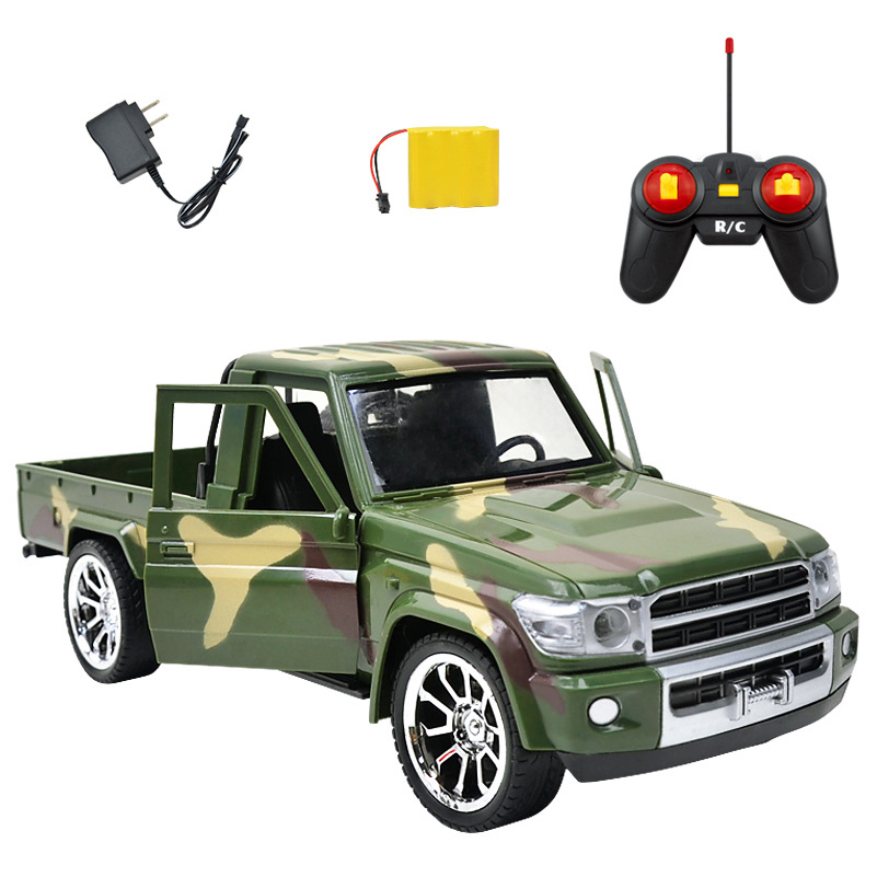 1:14 RC Car 2.4G 4CH RC Car Electric Light Door Open Trucks Remote Control Cars Toy Remote Control Truck Toys For Children Gifts крышка стеклянная tefal 04090122 22см