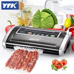YTK Household/commercial Full-automatic vacuum machine  food vacuum packaging machine vacuum sealer grind