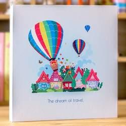 Diy самоклеющаяся пленка фотоальбом ручной работы этот альбом ребенок рост Альбом Семья Универсальный дети запись подарок