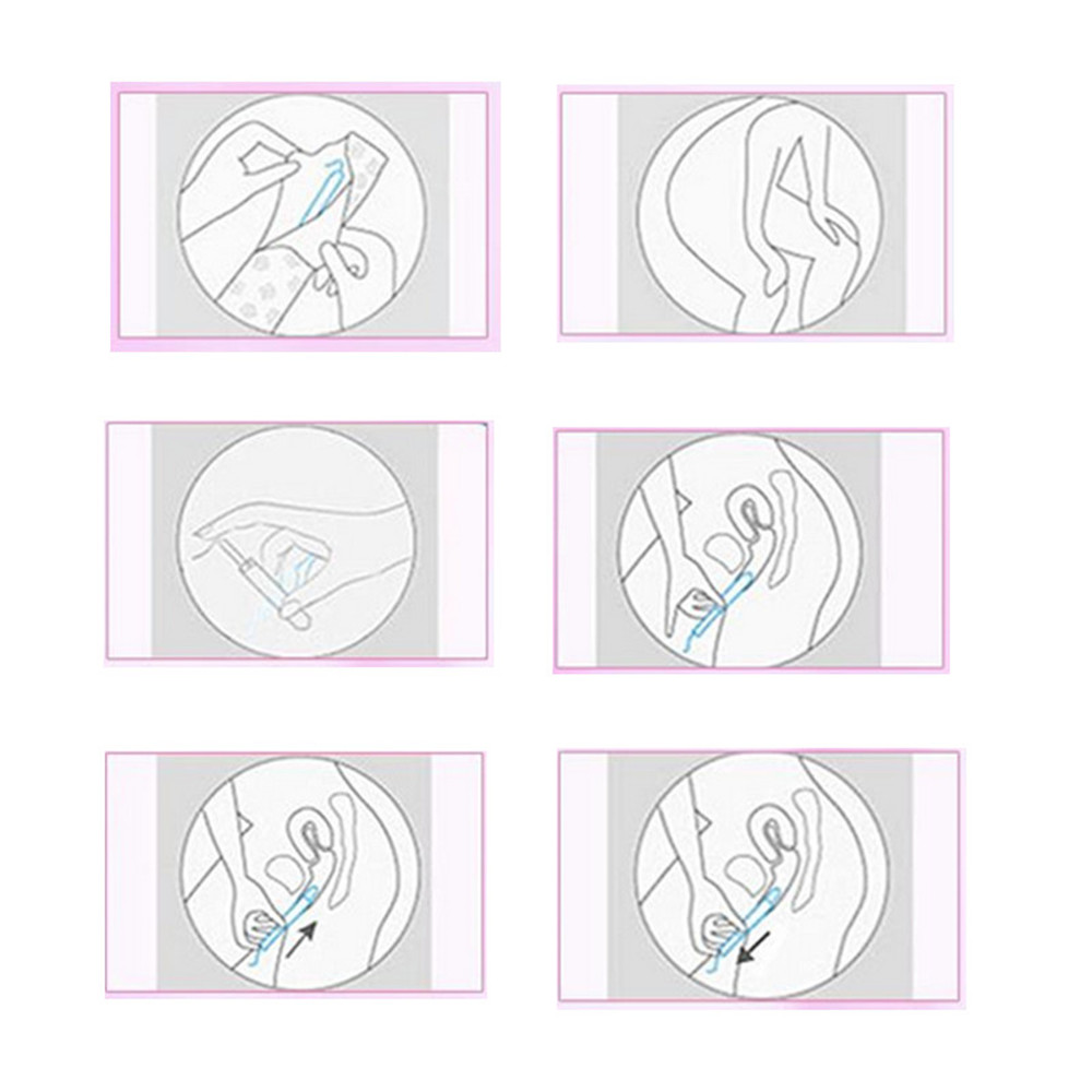 3 Boxes 48Pcs Pearl Plastic Menstrual Anion Tampon For Women Sanitary Napkin Towel Applicator Feminine Hygiene Product 12