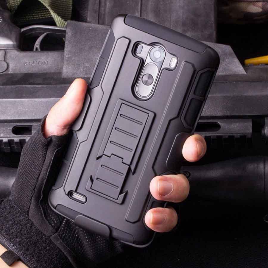 3 in 1 Armor Case for LG G4 Stylus LG G Stylo LG LS770 H635 H630D H631 MS631 H540 Stand Cover Heavy Duty Hybrid Hard Rugged 5.7""