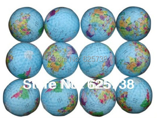 2017 new design golf ball high quality golf globe gift ball collection golf ball trainers ball 6pcs / lot free shipping
