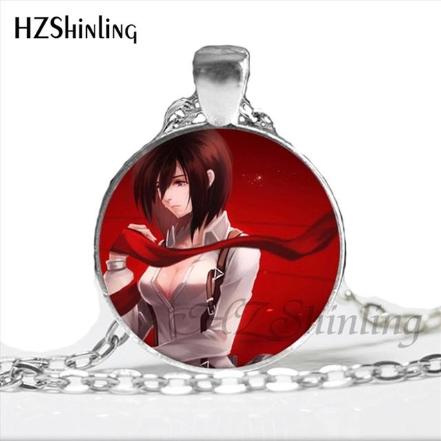 Tokyo Ghoul Kaneki Ken Necklace Handmade Glass Dome Pendant