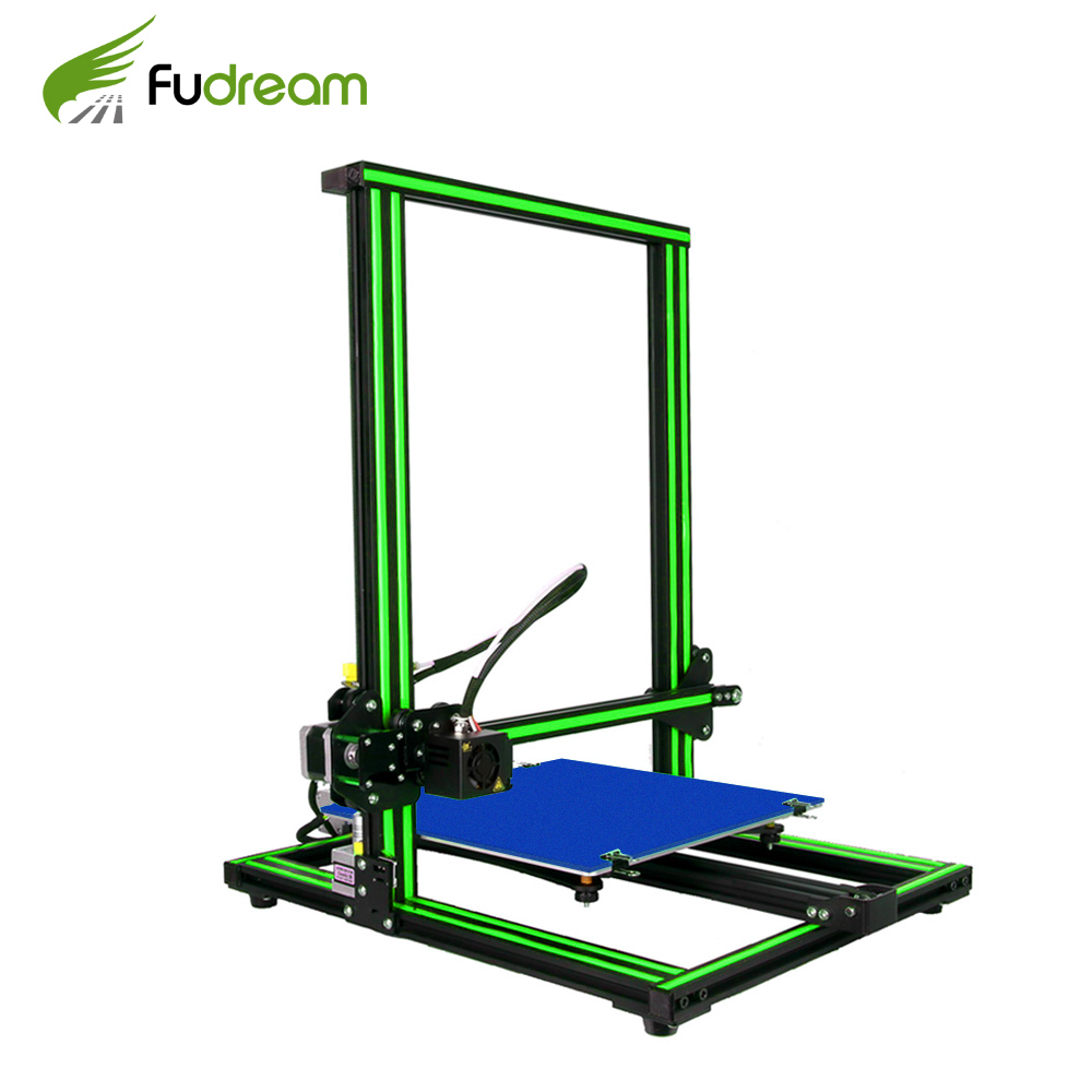 2018 Fudream <font><b>3D</b></font> <font><b>Printer</b></font> Upgrade IM-5050 Large Printing Size 500*500*<font><b>500mm</b></font> Dual Rod DIY Kit Filament Touch/Normal LCD Option image