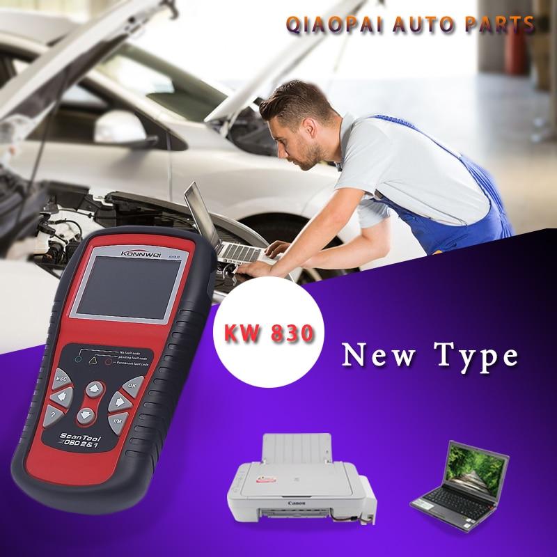 KW830 Auto fault code Reader diagnostic-tool OBDII EOBD Engine Diagnostic Scanner OBD2 Scan car Diagnostic Tool auto scanner code reader diagnostic tool for mercedes benz s