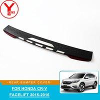 ABS rear bumper cover For honda crv cr v facelift 2015 2016 car styling bumper parts auto accessories For honda crv 2016 YCSUNZ