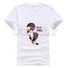 2019 anime Cotton Tokyo Ghoul Kaneki Ken hip hop oggai / Sasaki graphic shirt men tshirts fashions Mens Clothing