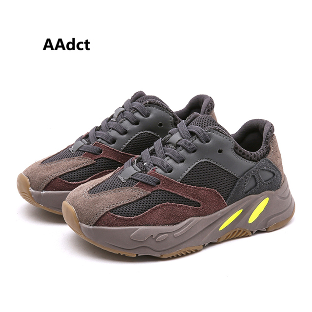 AAdct 2019 spring new boys shoes fashion Brand little children shoes for girls Mesh student sports little kids shoes sneakers