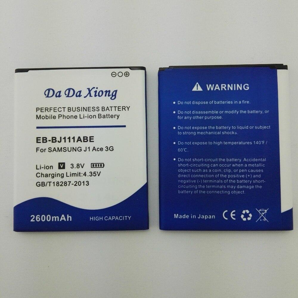 High Qualtiy 2600mah Eb Bj111abe Battery For Samsung Galaxy J1 Ace Short Circuit Img 20180315 155454 155249 155306 155325 155707 155909