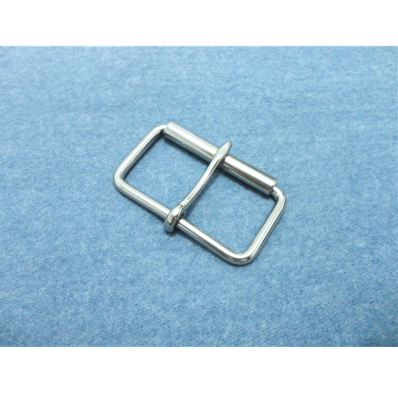 Stainless Steel Pin Buckle With Roller For Bag  Horse Saddle Accessories  Belt Buckle 36mm Belt Fastener 5 Pieces Per Pack