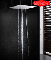 Ceiling Mounted Bathroom Shower Head With Arms 20 Inch Ceiling Mounted Swash And Rainfall Funcitons