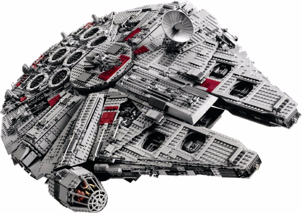 LEPIN STAR WARS Ultimate Collector's Big Millennium Falcon Model Building Blocks Kits Toy   Marvel Compatible Legoe