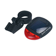 Bicycle accessories Waterproof durable Solar flashlight for bicycle Bicycle Head Lamp Bicycle Flash Safety Light 17613 P40