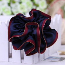 JZJR New Arrival 2019 Head Bands Satin Hair Scrunchies for Women Summer Tie Accessories Ponytail Holder Bows