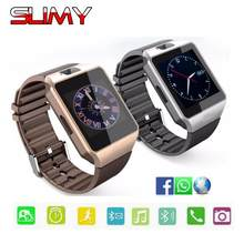 Slimy Smart Watch DZ09 Smartwatch for Men Women Kids Hours Clocks 2G SIM TF Push Message Bluetooth Connectivity Android Phone(China)