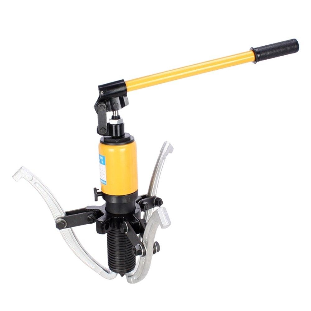 цена на 250 mm Spread 3 Jaws Hydraulic Separator Hub Puller Gear Bearing Garage Tool Set Kit