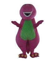 Buona visione viola drago costumi della mascotte adulto viola drago costumi della mascotte