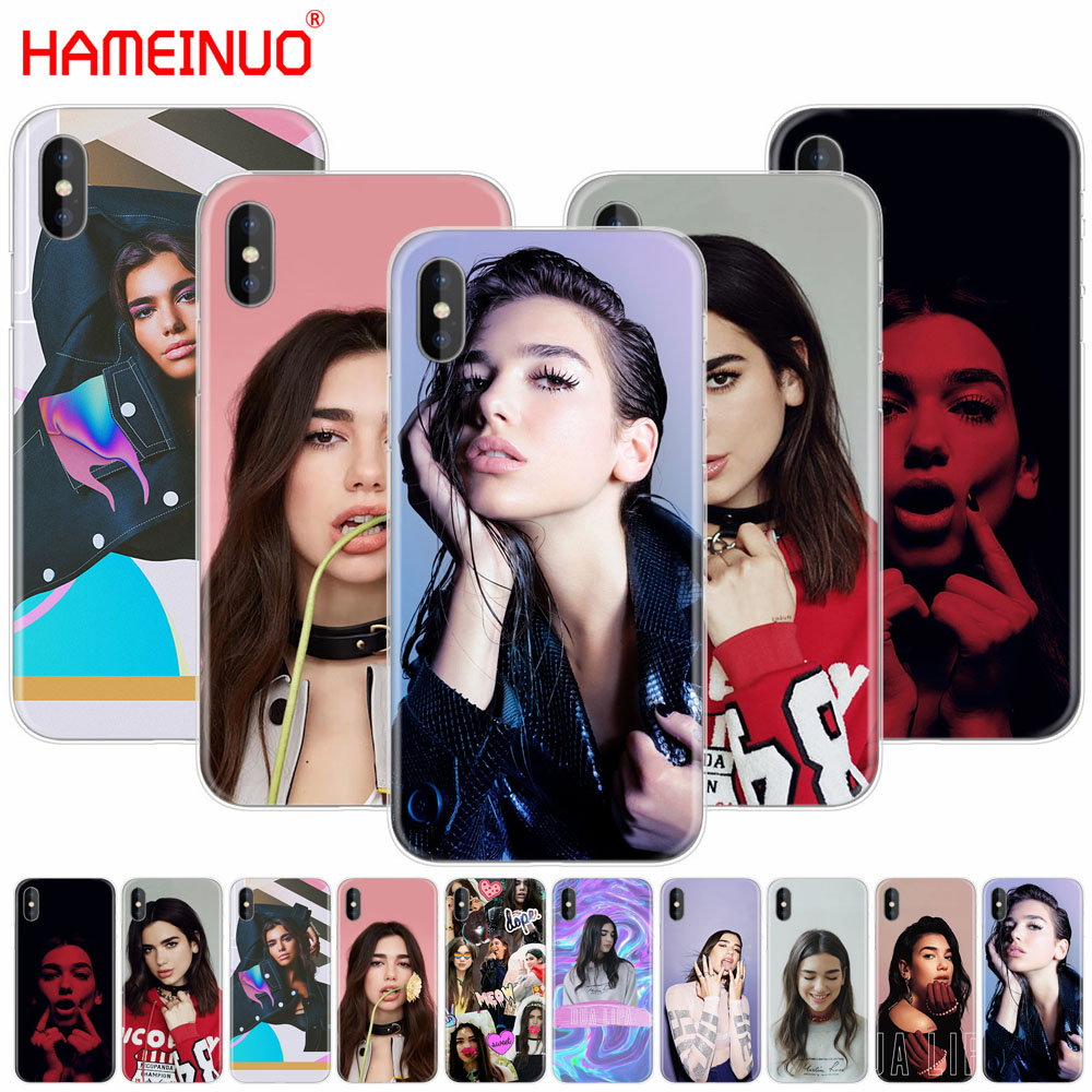 HAMEINUO Dua Lipa New Rules cell phone Cover case for iphone X 8 7 6 4 4s 5 5s SE 5c 6s plus
