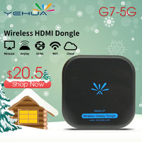 TV Stick G7 5Ghz Wireless HDMI Dongle High Speed WiFi Display TV Dongle Support Miracast Airplay DLNA for Apple Android VS G2