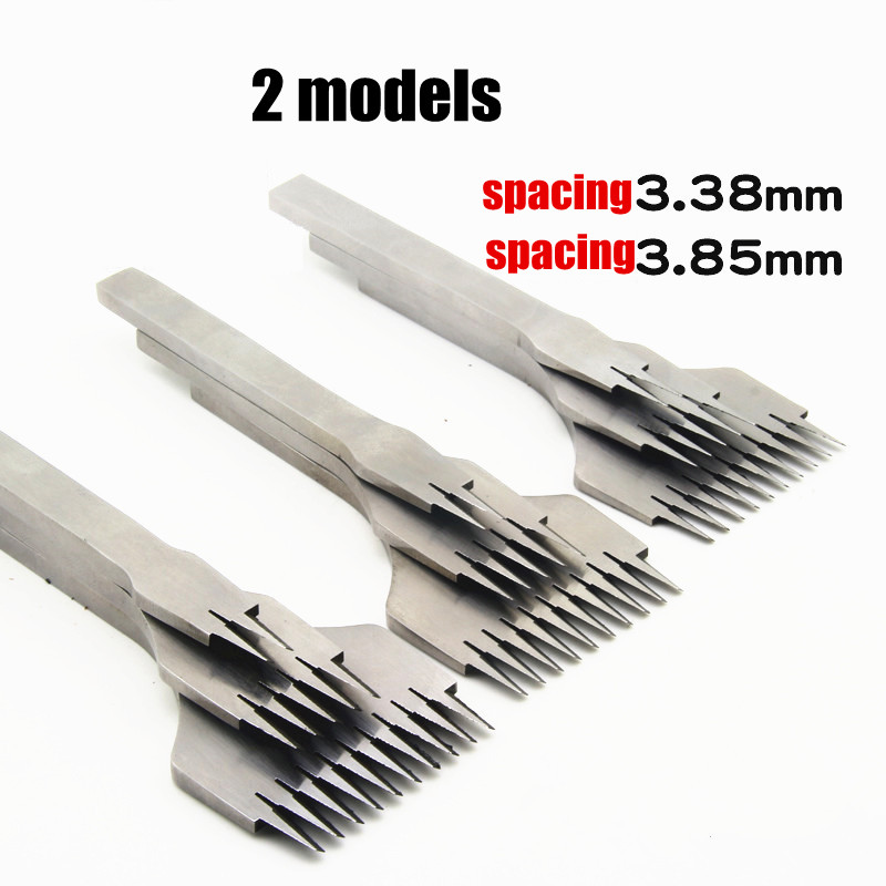 NEW Leather Tools Treatments Crafts DIY stitching punch Pricking Iron 3.38mm /3.85mm spa ...