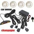 De calidad superior del coche sensor de aparcamiento para todos los coches con pantalla LED de 4 sensores de ayuda al aparcamiento sensor de radar del revés del coche del monitor