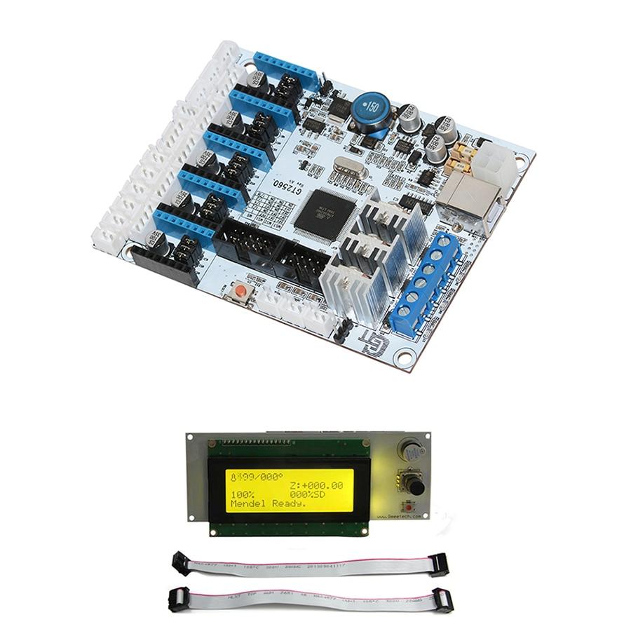 Geeetech GT2560 kontrol panosu ve LCD 2004 Ekran Combo KitiGeeetech GT2560 kontrol panosu ve LCD 2004 Ekran Combo Kiti