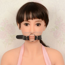 2016 Open Mouth Gag Leather Gag, Mouth Gag Sex Toy Slave Gag For Men And Women Adult Games